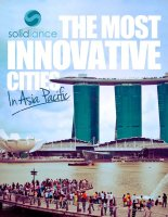 Innovative cities in Asia